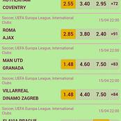 Six (6) Must Win Multibets With GG, Over 2.5 And Boosted Odds For Huge Return This Thursday