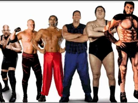 Top 10 Tallest WWE Wrestlers Of All Time (Real Heights)