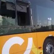 Yamoussoukro : des individus lapident les véhicules à la sortie du corridor de morefé