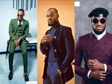 Checkout Top 10 Hot Photos Of Big Brother Naija's Prince Nelson On Suit (Exclusive Photos)