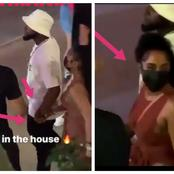Davido  Seen Doing With Young MA's Ex Girlfriend