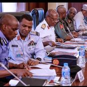 Service Chief On Hot Seat As President Buhari Ask Tough Questions About The Country's Security