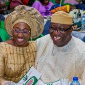 See Romantic Photos Of Governor Fayemi And His Beautiful Wife.