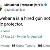 Fikile Mbalula might be starting a political war with public protector and Ace Magashule