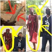 See Photos And Reactions As Omoyele Sowore Was Followed Into Court By A Man Dressed As Native Doctor