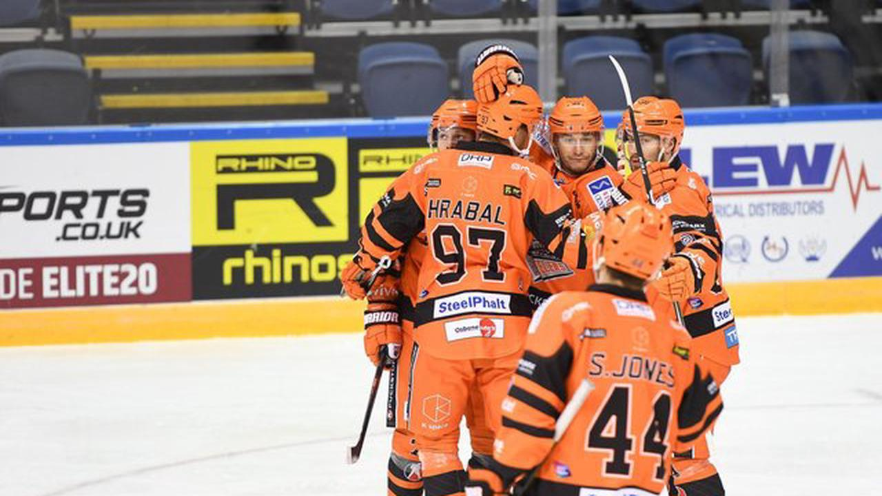 Tanner Eberle's delight as hat-trick helps Sheffield Steelers hit the top after victory over Coventry Blaze