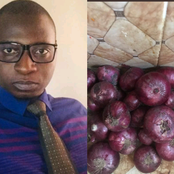 I Bought These Onions For 70Naira, And I Was Given Free Tomatoes In Gombe State
