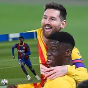 The Barcelona Youngster Who Looks Like Pogba Reacts After Scoring His First La Liga Goal