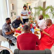Fans React As Paul Okoye, Don Jassy, Others Enjoyed A Delicious Meal Together(Photos)