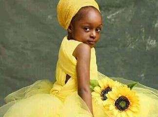 Aliumbwa Akaumbika! Amazing Photos Of The Most Beautiful 6-Year-Old Girl In The World