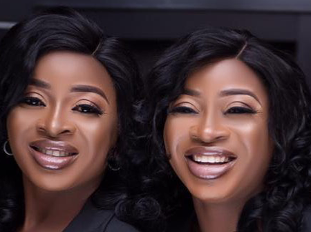 Aneke Identical Twin Shows Off Twin Girls, Says