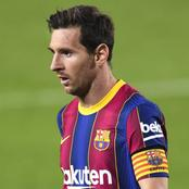 Lionel Messi receives his first red card and costs Barcelona the Spanish super cup