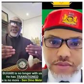 Nnamdi Kanu Thanked Dino Melaye For Saying This, Read To See
