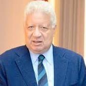 أول تعليق من مرتضى منصور بعد قرار إيقاف مجلس إدارة الزمالك