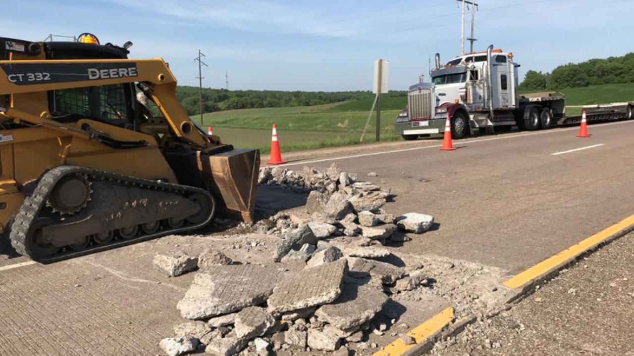 Highway Roads Buckle From High Heat in Nebraska