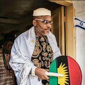 See What an Igbo Man Said To Nnamdi Kanu After He Reacted To Thugs Attacking Police Station In Imo