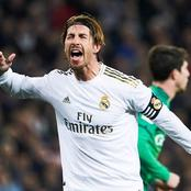 Ramos Test Positive for Coronavirus as Real Madrid face Liverpool.