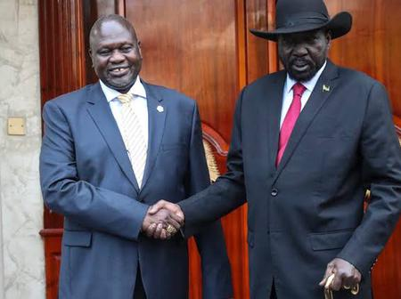 South Sudan President Salva Kiir is Preparing His Son For Leadership