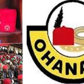See What Ohanaeze Said About IGBO'S Survival Amidst Food Blockage.