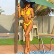 Reactions After Media Personality MizVicks Posted Her Beautiful Beachwear Photos on Instagram
