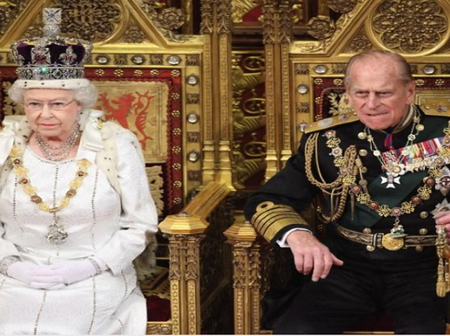 British Royal Family mourns the death of Its Queens Husband