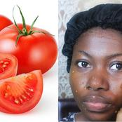 See the secret of how to use tomatoes to get smooth, glowing and radiant skin