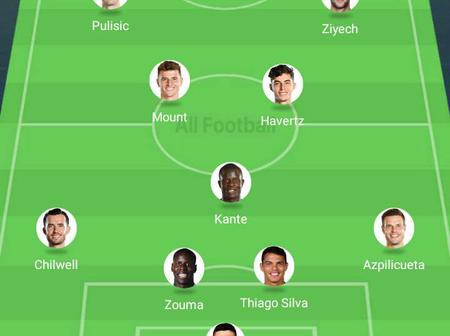 Champions League: Checkout The Possible Line Up For Chelsea To Use Against Rennes On Wednesday.