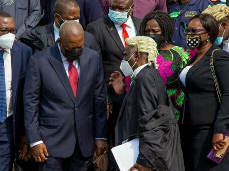 Mahama Loses Second Review application In election Petition.