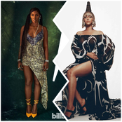 Tiwa, Beyonce and other Fashion and  Beauty influencers stun in the new Africa fashion style.