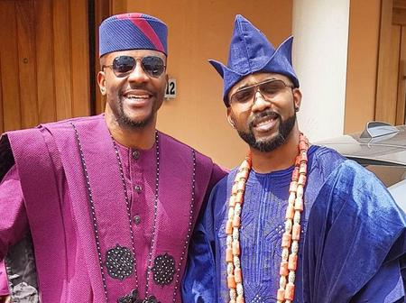 """""""When Friends Become Family"""" – Ebuka Pens Down A Message To Banky W"""