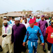 Oluwo Joined Islamic Group to Do Night Rally Against Southerners From Evicting Fulani Herdsmen