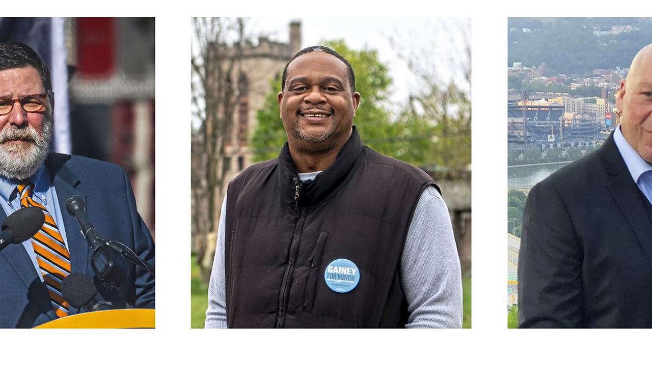 Pittsburgh mayoral candidates face off in televised debate as policing takes center stage