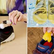 This is how you can get rid of stinky shoes