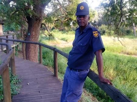 The search is under way for people who did this to Mpumalanga Cop. Check here