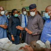 What Ogun State Governor Did After The Petrol Tanker Accident In Abeokuta