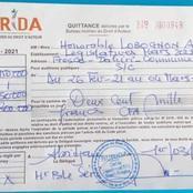Législatives 2021 : détenu, le candidat Alain Lobognon s'est acquitté de la taxe du Burida