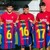Barcelona Confirm Squad Numbers for Youngsters: Alena to wear No 6, Trincao to wear No 17