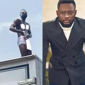 Remember The Man Who Was Bathing At The Protest? He Is Allegedly Best Law Student From OAU, (Photos)