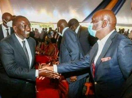 Ruto's Reaction to Gideon Moi After He Had Earlier Ignored Him