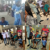 Crippled Man Who Dedicated His Child In Church Receives Wheelchair From Pastor