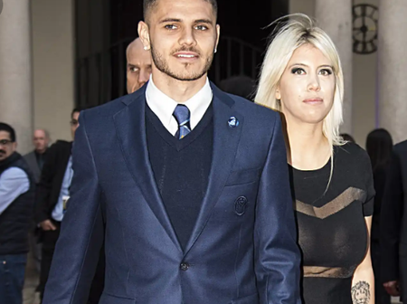 Photos: Untold Story Of How Mauro Icardi Snatched His Teammate's Wife And Boasts About Their Love