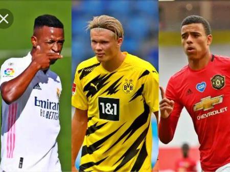 Haaland, Sancho, Vinicius and Greenwood lead 20-man shortlist for the Golden boy award
