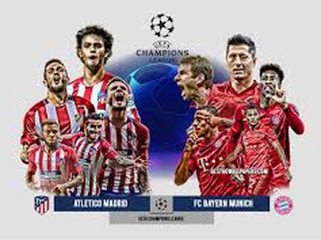 UCL : Anticipated Lineup of Bayern Munich vs Atletico Madrid