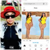 After these photos of Juliet Ibrahim surfaced online, check out how fans commented