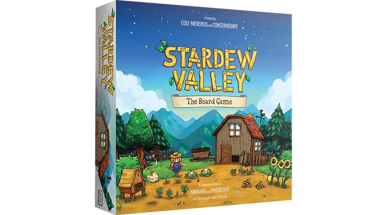 Stardew Valley : le jeu de plateau est maintenant disponible