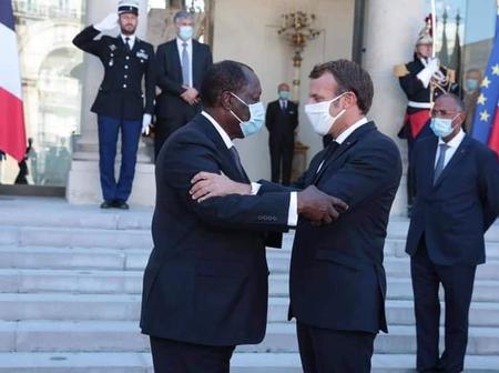 Pourquoi Ouattara se méfie de Macron