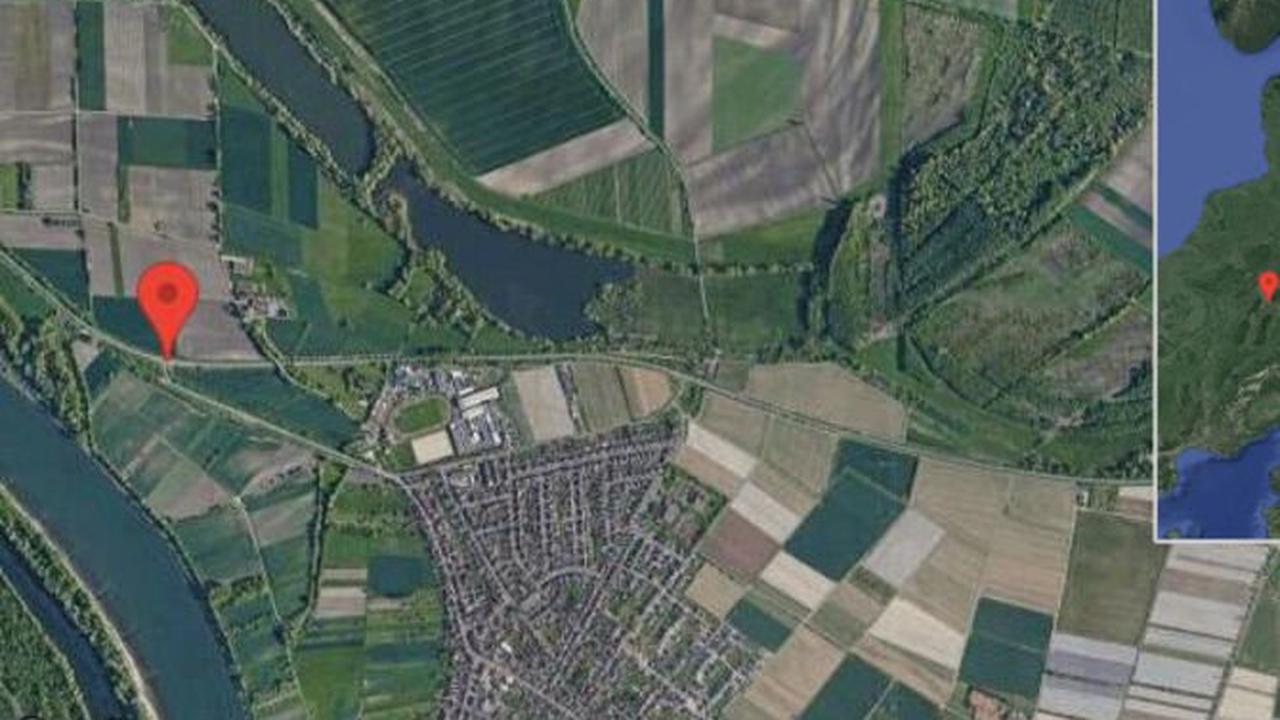 Altlußheim: Straße gesperrt auf B 39 zwischen Neulußheim und Altlußheim in Richtung Frankenstein