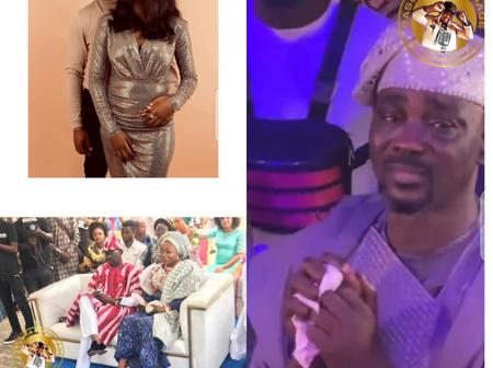 Reactions As Pasuma Breakdown In Tears On His Daughter's Wedding Day