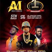 'AM RECORDS' Shakes Benin