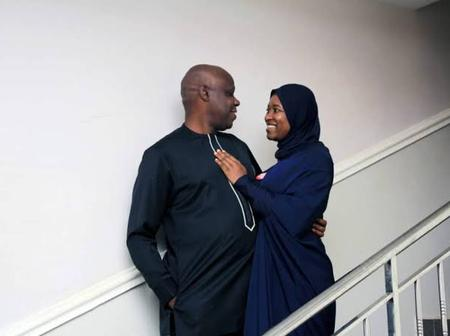 Check Out Beautiful Pictures Of Aisha Yesufu, Her Husband And Children